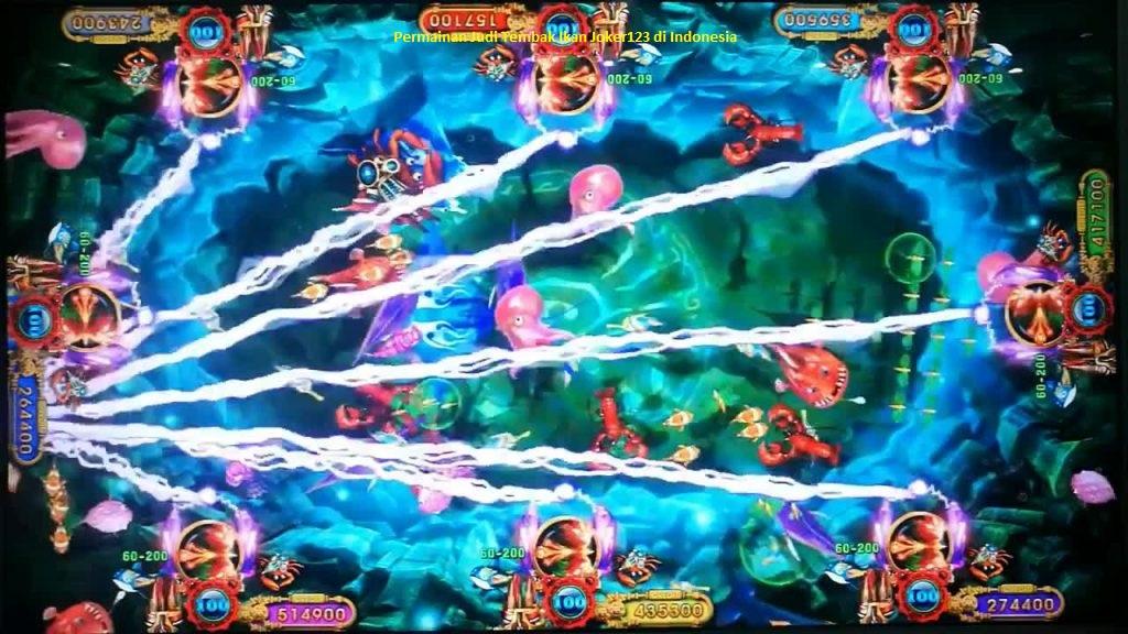 Permainan Judi Tembak Ikan Joker123 di Indonesia